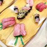 廻転寿司 海鮮 - まぐろ満開セット @2,160円
