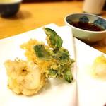 むらこし食堂 - 白子の天ぷら