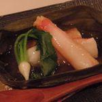 GINZA KOSO - 季節の前菜 ずわい蟹おろし煮