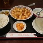 梅江飯店 - 麻婆豆腐らんち