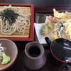 レストラン北斗庵 - 料理写真:天ざるそば(900円)