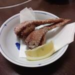 相撲料理 ちゃんこ成山 - 鳥唐揚げ餃子