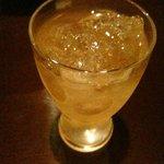 蟹工船 - サービスの梅酒