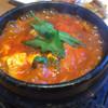 韓国料理Bibim - 料理写真:冬限定牡蠣スンドゥブ グツグツ煮えてます!