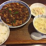 63570987 - 四川麻婆豆腐ランチ