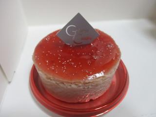 御献上カスティーラ 保戸野桜町店 - 御献上チーズケーキ いちご味