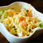 デリーダイニング - ビリヤニセットのサラダ