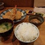 きづいち - ミックスフライ定食