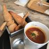 NARAYA CAFE - 料理写真:みてみてー!パン親父がお風呂に入ってるみたいじゃない?
