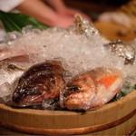 Nurukansatou - 本日のお魚