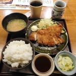 土風炉 - チキンカツ定食¥650-