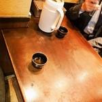 番馬亭 - 店内(テーブル席)
