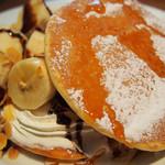 果実園 リーベル - モーニングパンケーキ