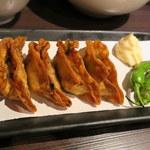 餃子バル - シソ揚げ餃子