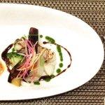バティチ - バティチランチ 1300円 の鱈のムニエル バルサミコソース