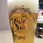 63587255 - 地ビール「太陽のラガー」(ひでじビール)