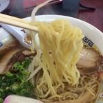 さつまラーメン - 麺