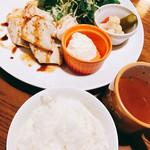 スーパースランプ - カジキマグロの香草焼き