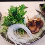 うまいんじょ処 魚や - 鰤しゃぶの野菜