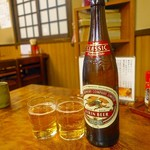 63591371 - 瓶ビール 550円