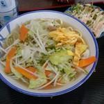 沖縄そば 家庭料理の店 嬉 - 料理写真:野菜そば