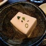 居酒屋 十八番 - 【2017.3.7(火)】日替わり定食(もつ煮)680円の冷奴