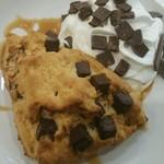 スターバックスコーヒー イオンモール東浦店 - アメリカンスコーン チョコレートチャンク+チョコチャンクホイップ