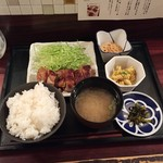 風花 - 鶏の醤(ひしお)漬け焼きランチ950円