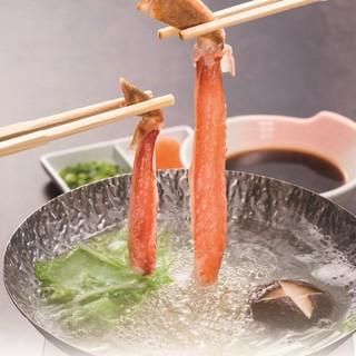 新鮮・美味しい・リーズナブルに蟹を堪能