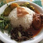 セイロン ホスト - 料理写真:スリランカンプレート