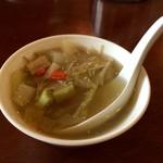 関琳 - 野菜スープ