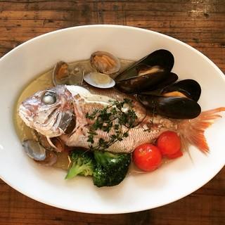 ◆瀬戸内鮮魚のアクアパッツァ◆