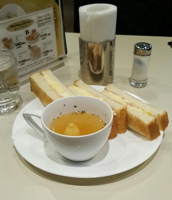 喫茶室ルノアール 品川高輪口店 - Bセット