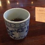 じゅうやくしつ - 食後はお茶のサービスあり(^_^)