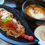 まるめしあん - つけ麺戦艦トマト
