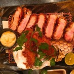 63600395 - 【2016.12.21 再訪】この日は鹿児島黒豚と牡蠣フライのチョイス定食で(^-^)/