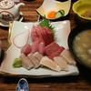 鮨菜旬炉料理 笑和 - 料理写真:お刺身定食1500円