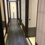 63601850 - 個室の廊下