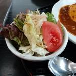 茶房 れん - サラダ(150円)