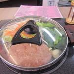 ふくふく食堂 - ハンバーグ定食