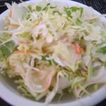 ふくふく食堂 - セットのサラダ