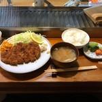 63604728 - ロースカツ定食(900円)