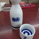 食堂よしおか - 黄桜 熱燗 350円 (2017.1)