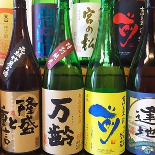 佐賀県の日本酒が豊富にございます