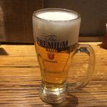 大連餃子基地ダリアン - 生ビール