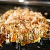鉄板酒処 はな家 - 料理写真:豚玉お好み焼き