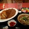 そば処 本陣 - 料理写真:カツカレー定食680円。