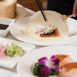 ホテルの上質なくつろぎの中で味わう本格広東料理