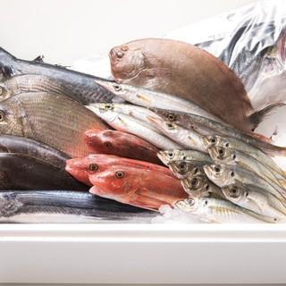羽田市場のお魚を使用!