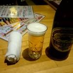 ラーメン酒場 酔っ手羽大王 - 瓶ビール